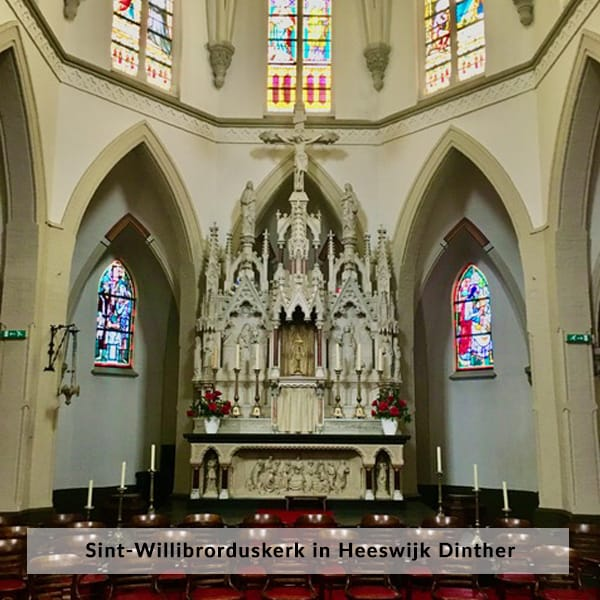 Sint-Willibrorduskerk in Heeswijk